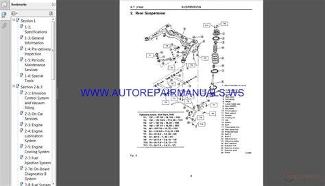 best car repair manuals 1997 subaru svx security system subaru svx c10 1997 service manual auto repair manual forum heavy equipment forums