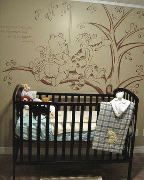 Classic Winnie The Pooh Curtains For Nursery 17 Best Images About Toddlers On Pinterest Nursery Murals Baby Room Themes And Praise The