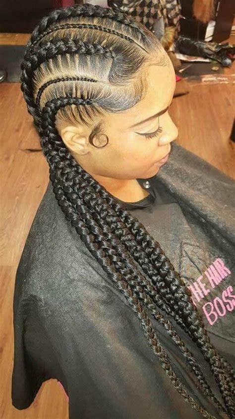 large braided hair styles 25 best ideas about big cornrows on pinterest black