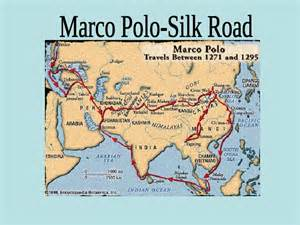 Marco Polo Route Map by Gallery For Gt Marco Polo The Explorer Route
