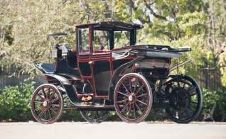 Electric Cars In Columbia 1899 Columbia Electric Laundaulet From Rm Auctions Sale