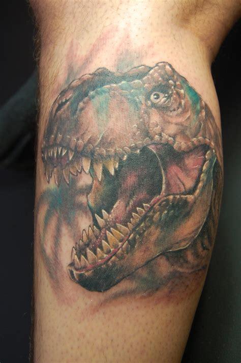 t rex tattoo t rex www tattoosbymikeguinn by stuntmanmike666