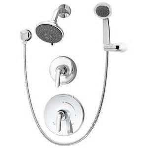 shop symmons elm chrome 2 handle shower faucet at lowes