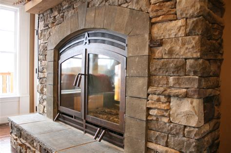In Door by Indoor Outdoor Wood Fireplace See Thru Fireplaces Acucraft