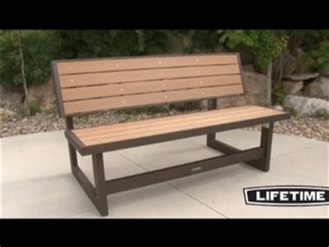 bench costco lifetime convertible bench 187 video gallery