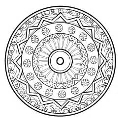 mandala meditation coloring pages cooloring com