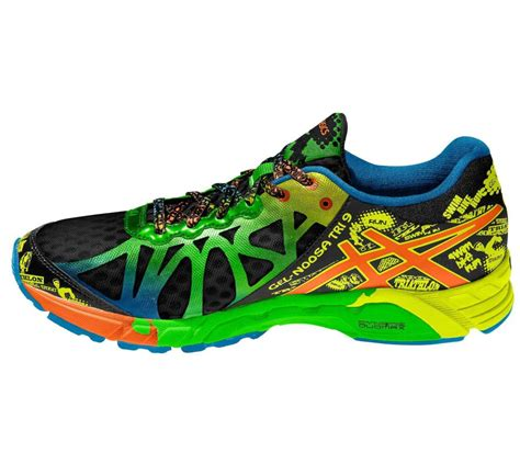 multi coloured running shoes asics gel noosa tri 9 running shoes multi coloured