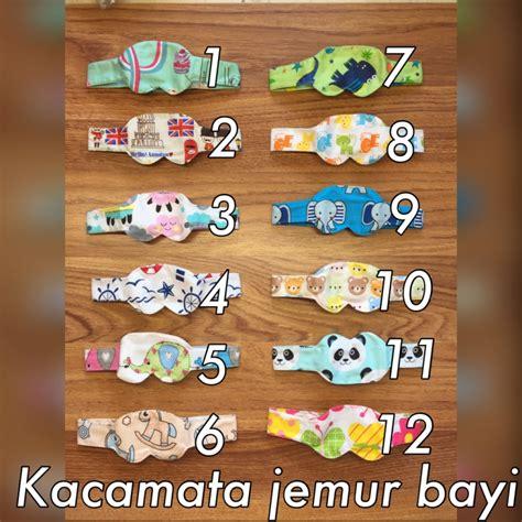 Penutup Mata Bayi Kacamata Jemur Sun Eye Mask jual baby eye mask kacamata jemur penutup mata bayi cherry baby shop