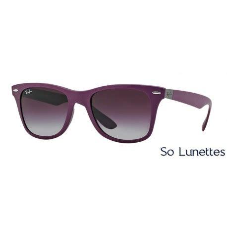 Rayban Wayfarer Liteforce Violet lunettes de soleil ban homme wayfarer liteforce rb4195