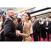 Justin Timberlake And Jessica Biel Oscar 2017 Red Carpet
