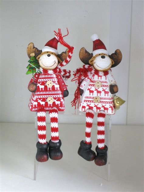 printable reindeer legs novelty sitting dangly leg s reindeer in choice of 2