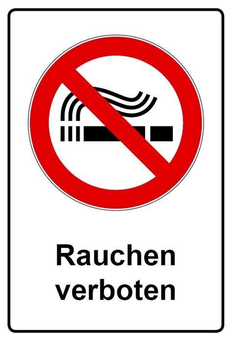 Aufkleber Kennzeichen Verboten by Kombi Schild Rauchen Verboten