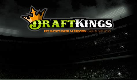 Sleepers Week 14 by Week 14 Draftkings Picks