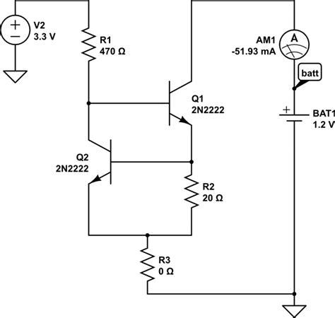 constant current resistor batteries constant current battery discharge electrical engineering stack exchange