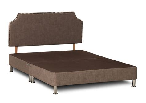 divan bed without headboard divan bed base in linen linoso fabric visco therapy