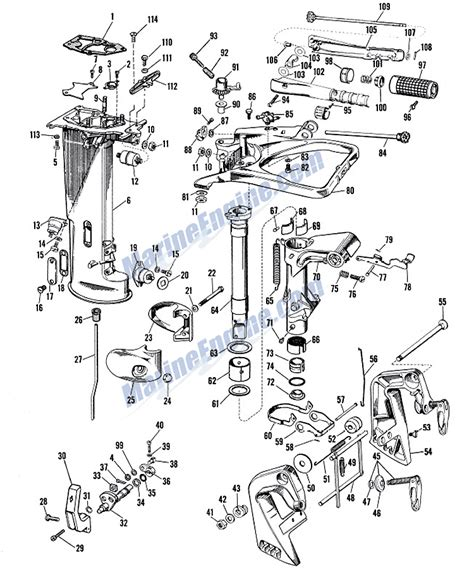 evinrude lower unit diagram 40 hp mercury outboard lower unit parts diagram 2017