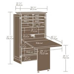 Desk Hutch Plans Sewing Machine Cabinet Adorable Home
