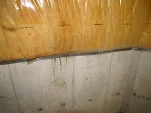 basement moisture associated symptoms and solutions