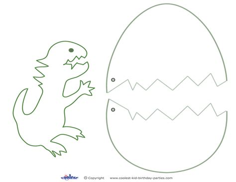 medium printable dinosaur craft coolest free printables