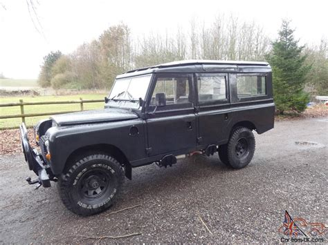 1975 land rover 1975 land rover series 3 109 lwb v8 5 door station wagon