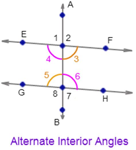 angle pairs types of angle pairs math tutorvista