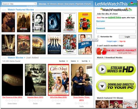 film gratis web top 10 websites to watch online movies for free