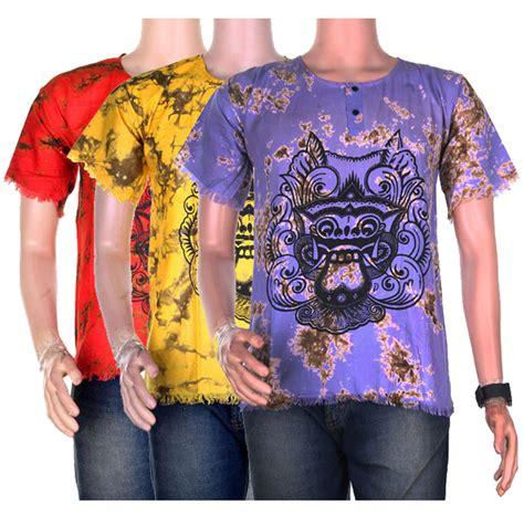 Kaos Baju Tshirt baju kaos pria batik barong batik pria kaos tshirt