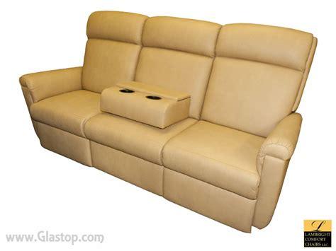 wall hugger recliners for rvs lambright harrison 84 sofa recliner glastop inc