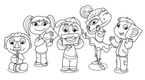 coloring book review song by song five senses coloring pages free coloring pages for