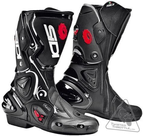 sidi vertigo s vented motorcycle boot