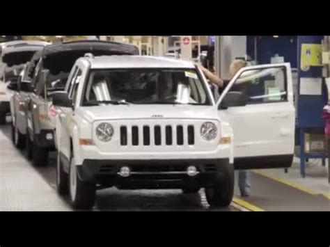 jeep factory jeep compass and jeep patriot assembly factory plant