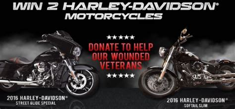 Hero Giveaways - win two 2016 harley davidsons plus year worth of gas
