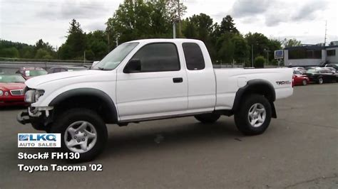 car manuals free online 2002 toyota tacoma xtra transmission control sold 2002 toyota tacoma trd xtra cab 4wd repairable youtube