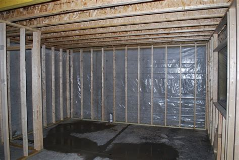 framing basement walls