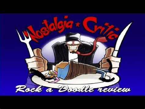 doodle studio dailymotion nostalgia critic rock a doodle vidoemo emotional