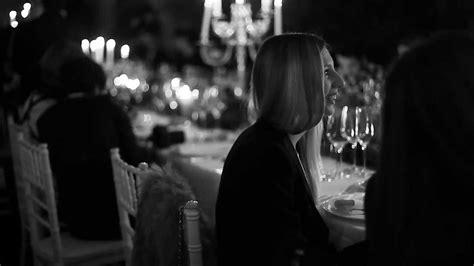 black dinner black white dinner