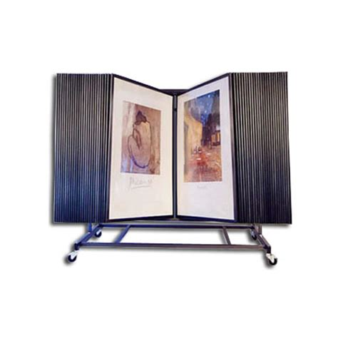 Print Display Rack by 50 Panel Display Print Rack Flip Thru