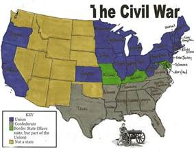 us civil war and south map mrs sandlin s
