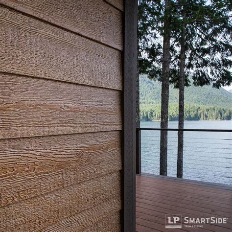 Replacing Wood Paneling by Lp Smartside Lap Siding 1 Rustic Seattle By Lp