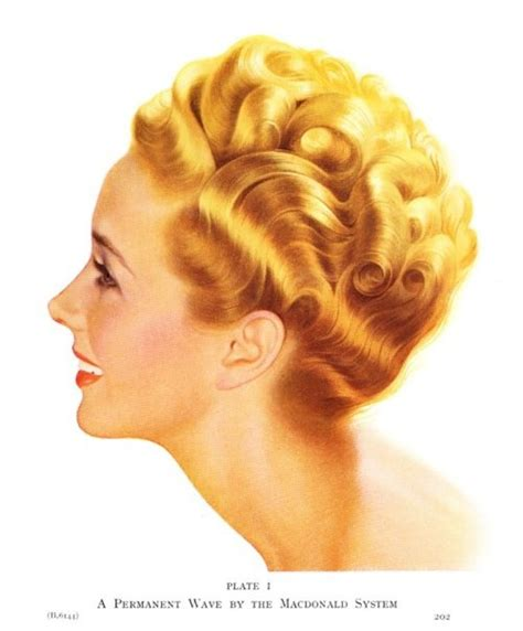 1950s perms 17 best images about vintage hair perms on pinterest