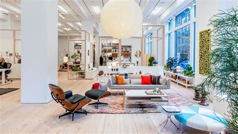 home design shop new york herman miller unveils its nyc flagship full of midcentury