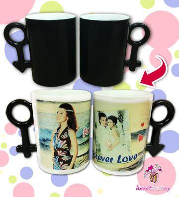 Magic Glossy Malaysia magic mug printing color changing mug 3 days delivery