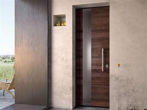 porta d porta d ingresso blindata in acciaio e legno sovrana