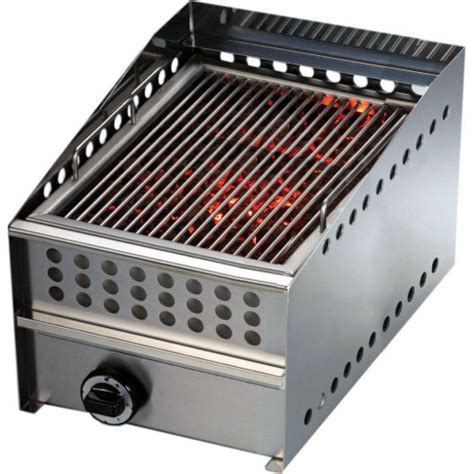 Grille Barbecue 592 by Barbecue Charcoal Volcanique 224 Gaz Professionnel
