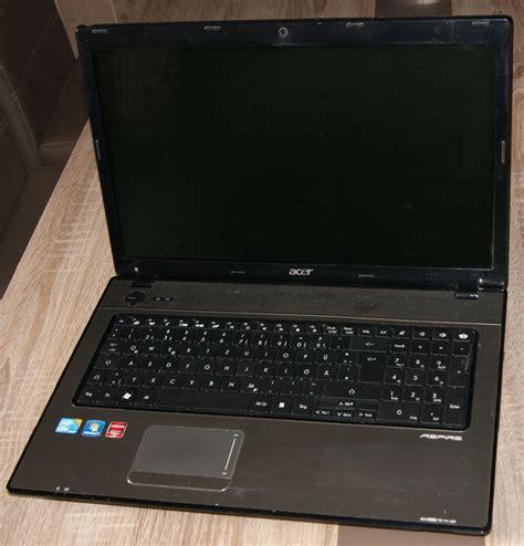 Laptop Acer I3 Nvidia Geforce acer aspire 7739g i3 2400mhz 17 3 quot nvidia geforce gt520 320gb 4096mb ebay