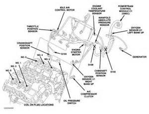2004 chrysler sebring sending unit engine mechanical problem