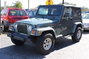 Jeep Wrangler For Sale Sc Used Jeep Wrangler For Sale South Carolina Carsforsale