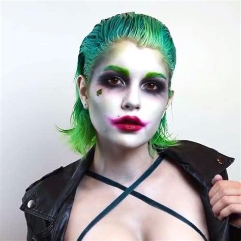 imagenes de joker girl diy joker halloween costume idea diy halloween costume