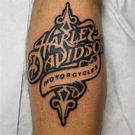 harley tribal tattoos harley davidson on awesome ink