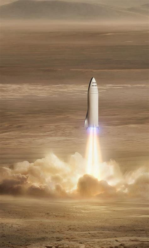 spacex bfr mars mission  wallpapers hd wallpapers id